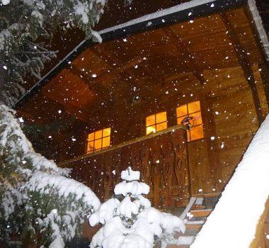 Il neige à Valfréjus