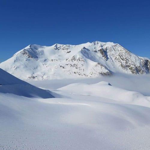 Piste du Jeu : domaine skiable de Valfréjus