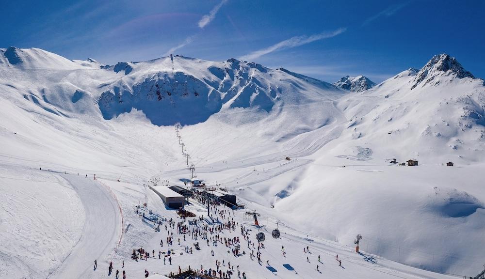 Plateau d'Arrondaz, domaine skiable de Valfréjus